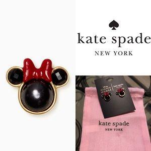 Kate Spade Minnie Mouse Stud Earrings